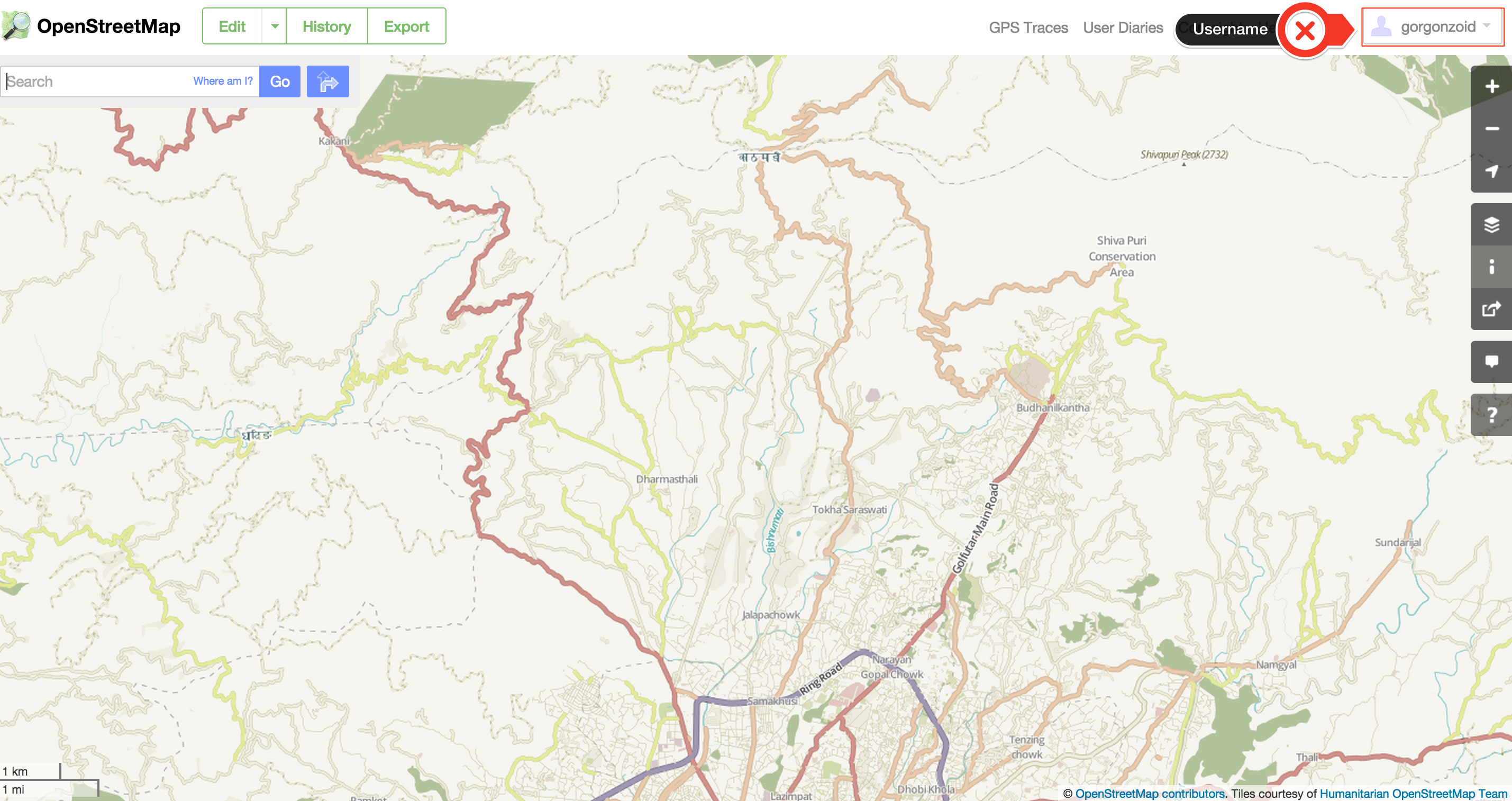 Getting Started with Open StreetMap for Nepal